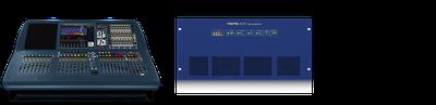 Billede af Midas Pro2 + 1 Midas DL251 stagebox
